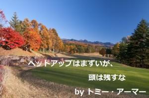 トミー・アーマー|ゴルフ名言集