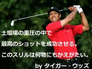 Tiger Woods タイガーウッズ ゴルフ名言集
