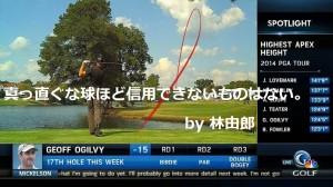 林由郎|ゴルフ名言集
