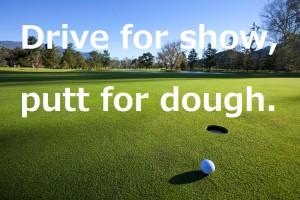 パッティング|ゴルフ名言集